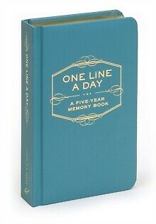 One Line a Day: A Five Year Memory Book by Chronicle Books (Diary, 2009)