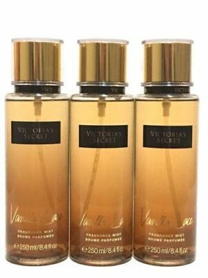 c1ae9e26ca Lot Of 3 Victoria s Secret Vanilla Lace Fragrance Mist Body Spray Perfume  8.4 Oz