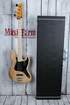 Fender® American Original 70s Jazz 4 String Electric Bass Guitar with Case & COA
