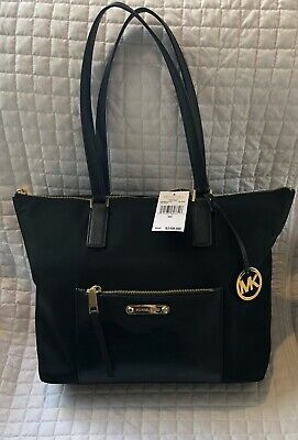 7f4287df647af NWT MICHAEL KORS Ariana Large North South Convertible ADMIRAL BLUE ...