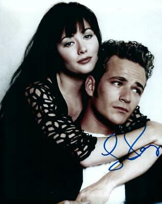 Luke Perry Signed 8x10 Photo Autographed Picture with COA