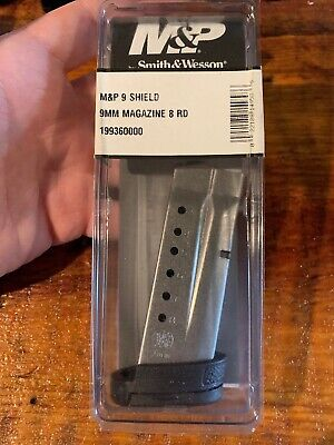 Smith & Wesson M&P Shield 9mm 8 Round Magazine 19936 S&W 8rd Mag - Factory OEM