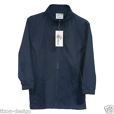 Children  Raincoats Navy Blue Size 10-Spray Jacket