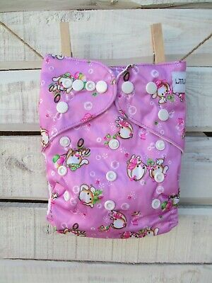 Modern Cloth Nappy (MCN) One Size - Cute Bunny/Rabbit