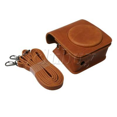 PU Leather Camera Carrying Bag Case with Strap for Fuji Mini70 Camera