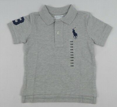 Ralph Lauren baby Boys' Short Sleeve Cotton Polo Shirt Top sizes 9,18, 24 month