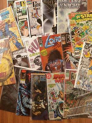 FN+//VF 1986 to 2015 HUGE DC-Marvel-Image-Independent Mixed 300 Comic Book Lot