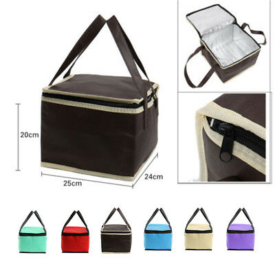 Portable Waterproof Thermal Cooler Insulated Lunch Box Storage Picnic Bag/Pouch