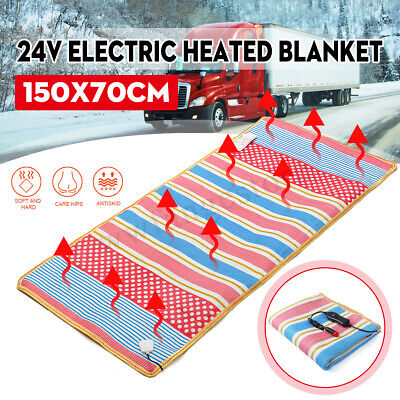 AUS Car 20w Electric Heating Blanket Bed Mat Pad Heated Warmer Herter 1-2 Person