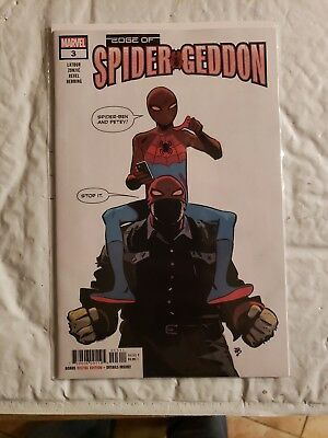 EDGE OF SPIDER-GEDDON #3 MARVEL comics NM 2018 Latour FIRST Spider-Ben SOLD OUT