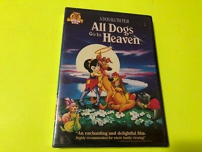 All Dogs Go to Heaven DVD New Free Shipping on 3 or More DVDs