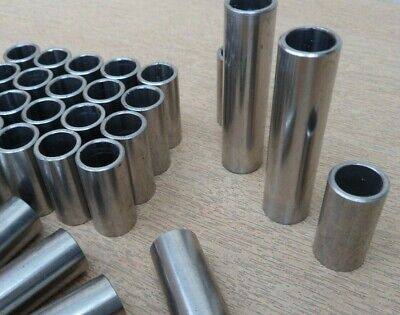 M8 Stainless Steel Polished Spacer Stand Off Collar Various Lengths Available
