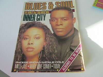 blues and soul magazine issue 535 may 1989