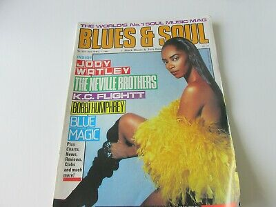 blues and soul magazine issue 533 april 1989
