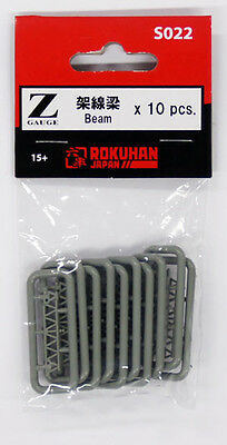 Rokuhan S022 Z Scale Beam 10 pcs. (1/220 z scale)