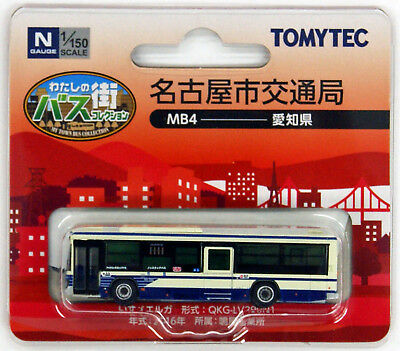 Tomytec My Town Bus Collection 'Nagoya Bus (Aichi)' (MB4) 1/150 N scale