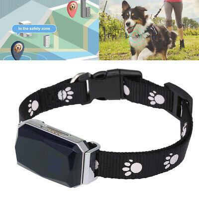 Pet Collar GPS GSM Tracker Real Time Locator Track Playback SOS for Dog Cat B0Y9