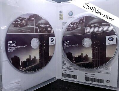 Bmw High 2019 Europa Europe Dvd1 + Dvd2 Navi Map Mk4 E39 E46 E65 E83 E53 E85