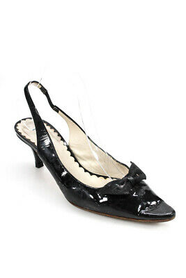 53ce9c74219 MARC JACOBS WOMENS Rounded Toes Pumps Black Patent Leather Size 38 8 ...