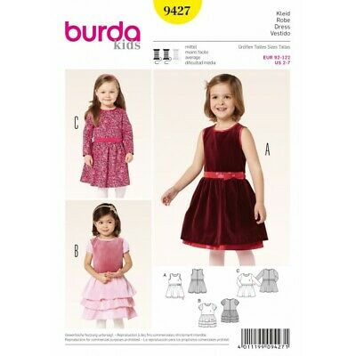 Burda Childrens Sewing Pattern 2461 Prince /& Mozart Fancy Dress Costumes ...