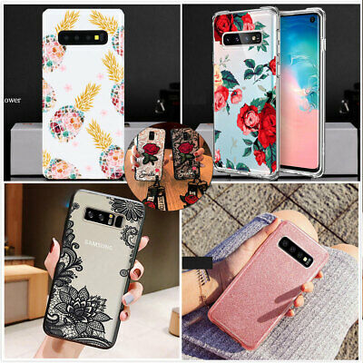 F Samsung Galaxy Note10 Plus S10 S10e Case Shockproof Soft TPU Bling Cute Cover