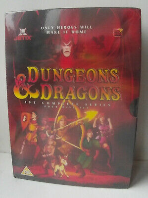 Dungeons and Dragons (1983 animated) Complete Series New & Sealed 4-Disc Boxset