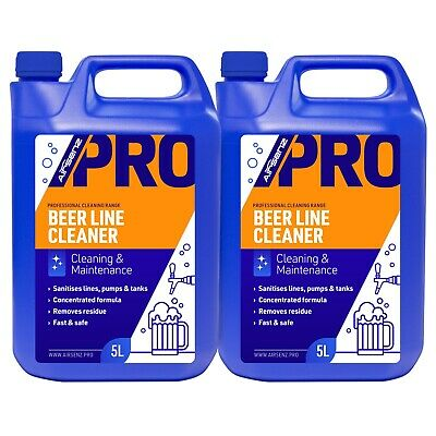 Professional Beer Line Cleaner Pump Tank Maintenance Concentrated Formula 10L