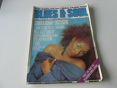 Blues And Soul Magazine Issue 529 Feb 1989