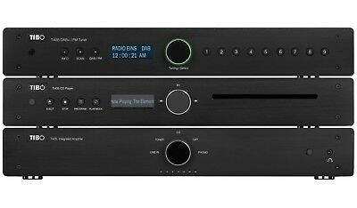 TIBO TI435 Hi-Fi Stereo System - DAB+ Tuner / Amplifier / Compact Disc Player