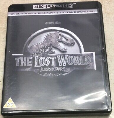 The Lost World Jurassic Park 4k Blu Ray Used In Very Good Working Order