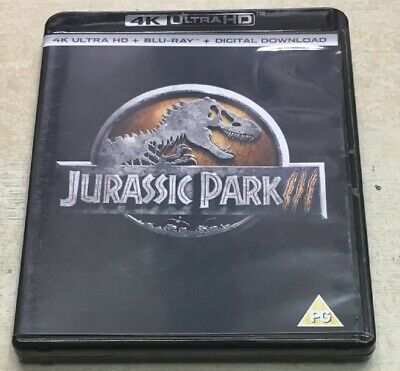 Jurassic Park 3 4k Blu Ray Used In Very Good Working Order