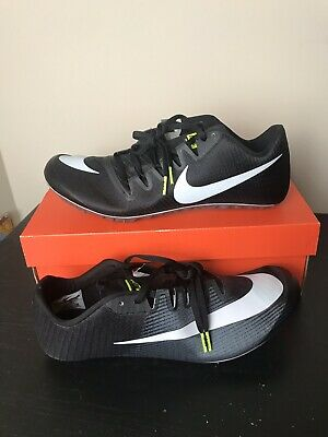 da795e70fcaf Nike Zoom JA Fly 3 Track Spikes Black Volt Dark Grey White Size 12 (865633
