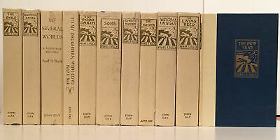 Pearl S Buck / Limited Edition Set of 11 Titles 9 SIGNED by the author 1972