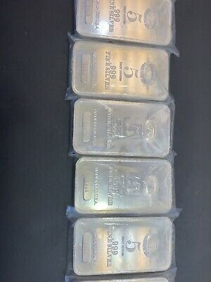 Westminster Mint 5 oz silver bar .999 Fine Silver
