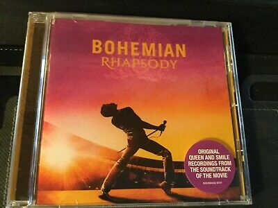 QUEEN - BOHEMIAN RHAPSODY [ORIGINAL SOUNDTRACK CD)  Sealed Free Shipping