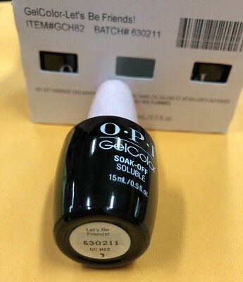 OPI GelColor LET' BE FRIENDS! H82 UV/LED Gel Polish HELLO KITTY COLLECTION