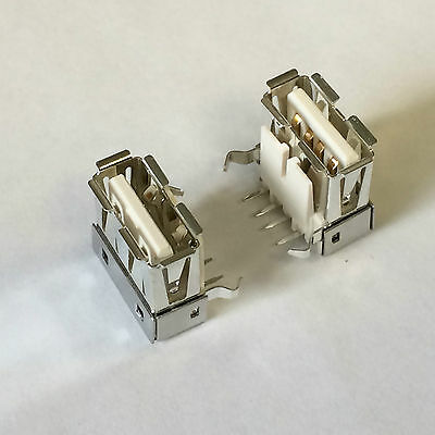 MILL MAX  896-43-004-90-000000  USB TYPE A Connector Receptacle, 4 Pos // Qty 10