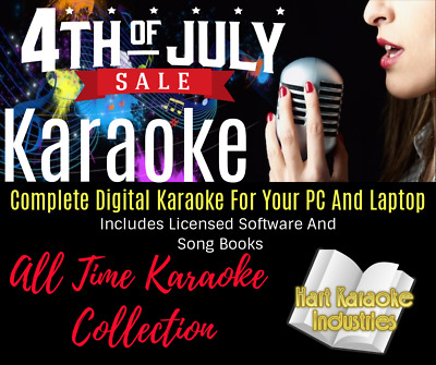 265,000 Karaoke Songs - Complete System Setup - Licensed - USB Hard Drive
