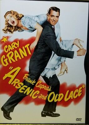 Arsenic and Old Lace (1944) (DVD 2000) EXCELLENT / MINT CONDITION