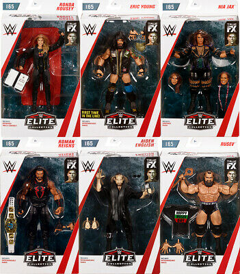 WWE Elite 65 - Complete Set of 6 Mattel Toy Wrestling Action Figures