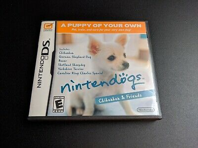 Nintendogs Chihuahua & Friends Nintendo DS NRMT- condition COMPLETE n box!