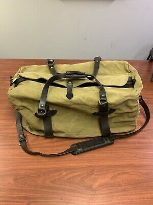 66df07ed6b FILSON MEDIUM RUGGED Twill Duffle Bag TAN -  200.00