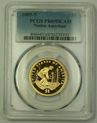 2009-S US Native American Dollar $1 Coin PCGS PR-69 DCAM