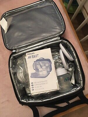 Philips Avent manual breast pump/ISIS out and about set/Thermal bag.