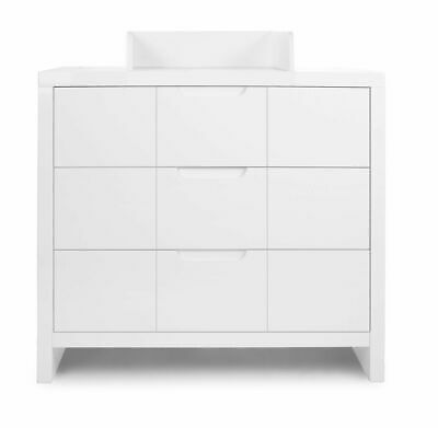 Commode à langer design moderne coloris blanc P-6180-CO Bobini