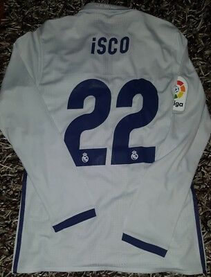 LUCAS VAZQUEZ signed boots Real madrid player issue match worn shirt Isco Spain Fußball-Artikel