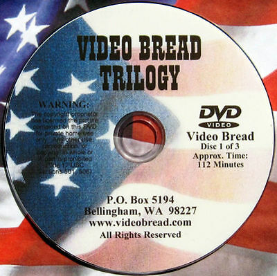 Artisan Bread Baking Class -7 hrs -4 DVD set, 0/All Rated G Educational oven dvd