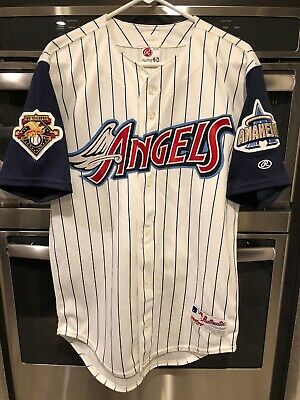 6cc552249 Authentic Anaheim Angels Jersey 40 Rawlings Los Angeles California Disney  44 01