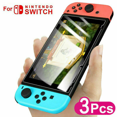 1/3PCS For Nintendo Switch Premium 9H Tempered Glass Screen Protector Guard