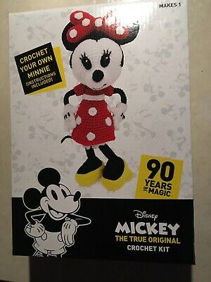 Disney Minnie Mouse 🐭 90 Years of Magic Crochet 🧶 Kit